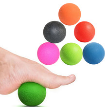 Bargain Gmarty 1Pc Massage Ball Pain stress relief Trigger Point Therapy for Muscle Knot Fitness Yoga Lacrosse Balls Hockey Ball save