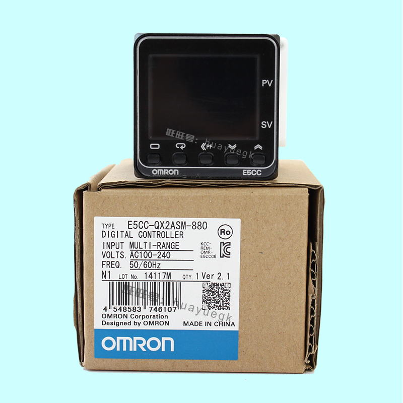 OMRON original authentic 100% new E5CC-QX2ASM-880 electronic temperature controller digital display temperature controller omron original authentic 100% new e5cc rx2asm 880 electronic temperature controller digital display temperature controller