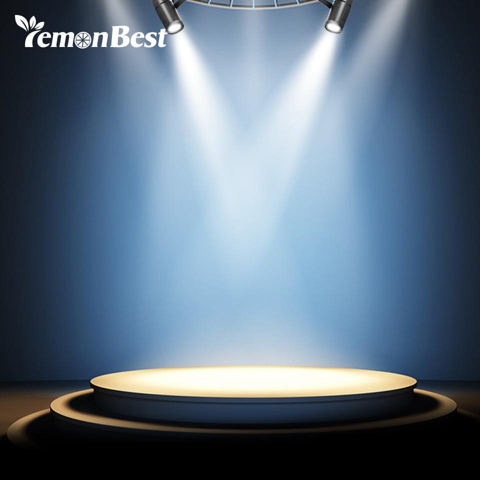 3w Led Stage Light Spotlight Track Lighting White Light Eu
