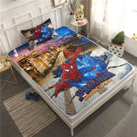 3D Disney Spiderman Bedding Sets Twin Size Bedspread Coverlets for Kids Boys Bedroom Decoration pillow case Children Home Fabric