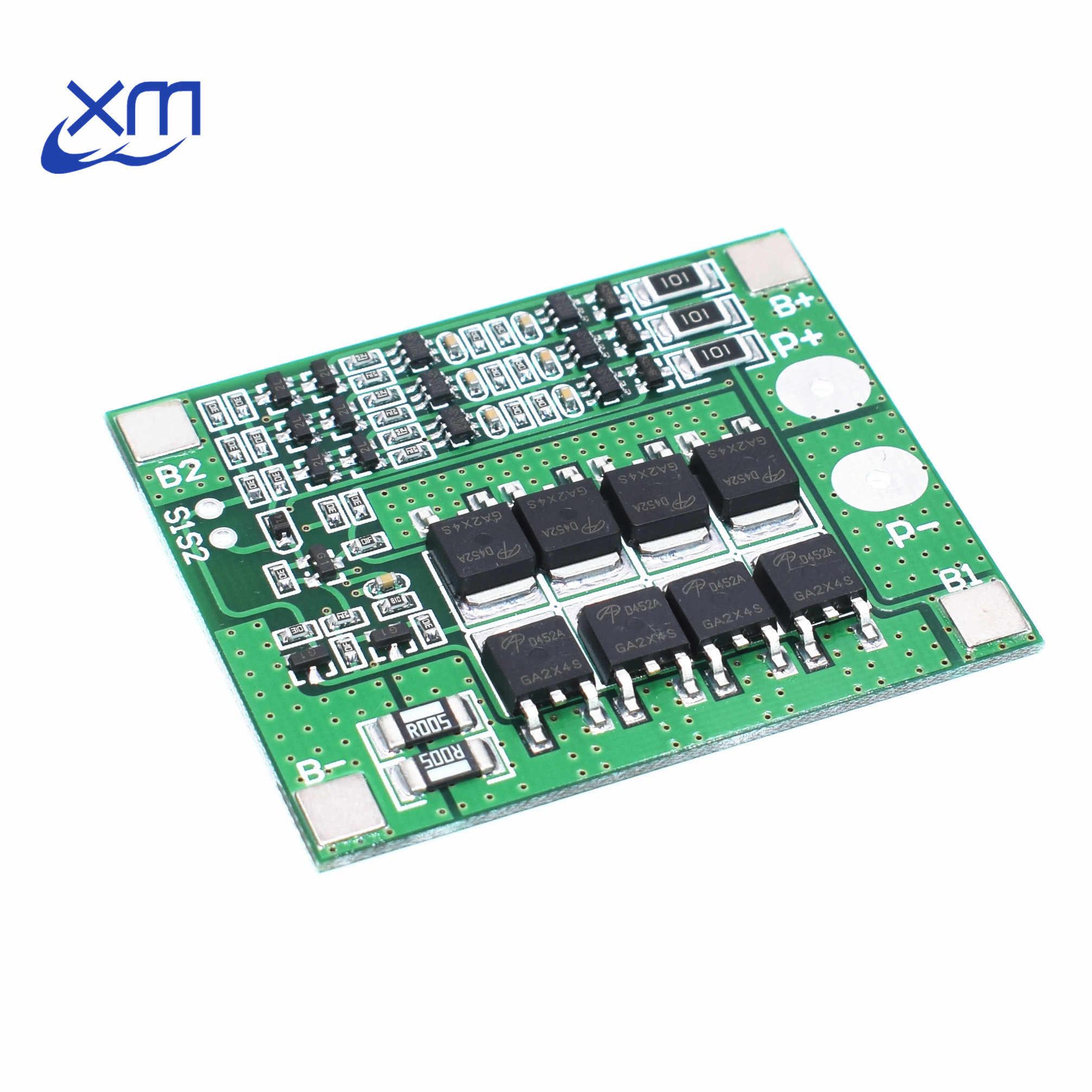 Original chip 3S 25A Li ion 18650 BMS PCM Battery Protection
