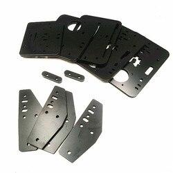 Funssor diy placa de alumínio composit conjunto feito por cnc 6mm kit placa melamina para sistema acro