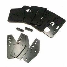 Набор алюминиевых композитных пластин Funssor сделай сам из акрила, сделанных на ЧПУ, комплект меламиновых пластин 6 мм для системы ACRO