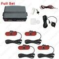 Auto Original Style 4PCS Sensors Car Reverse Backup Beep Alarm Radar Parking Sensor #FD-1357