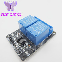 1PCS/LOT New 5V 2 Channel Relay Module Shield for Arduino ARM PIC AVR DSP Electronic 10A(China)