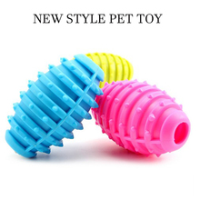 Small Dog Toys New Pet Dog Toy Rubber Ball Pet Toys Puppy Chew Toys Tooth Cleaning Pet Balls Food for chihuahua