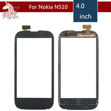 4.0 For Nokia Lumia 510 N510 LCD Touch Screen Digitizer Sensor Outer Glass Lens Panel Replacement 3 5 for nokia n8 n 8 lcd touch screen digitizer sensor outer glass lens panel replacement