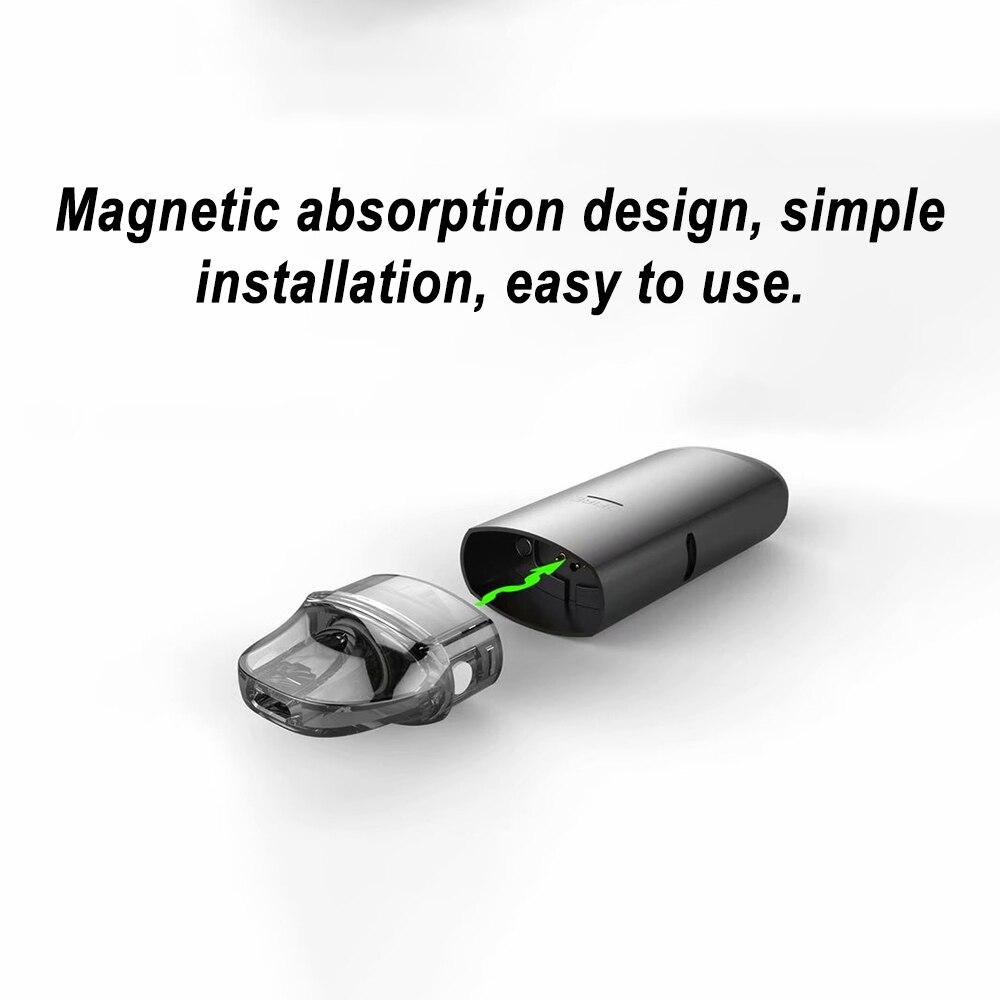 DOTENT MRPOD S Vape Kit 650mah Built In Battery 2ml Pod System Vaporizer Metal Body Box Shape Shisha Pen Electronic Cigarette