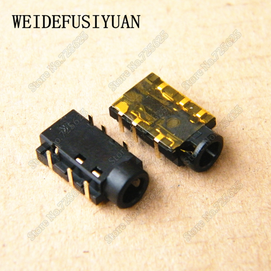 New Audio Jack Connector for ASUS D552C X552E 6 Pin Headphone Microphone Socket Port