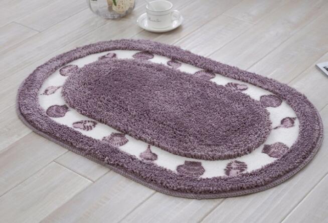 Tappeti Da Bagno Grandi Dimensioni : Tappeti stanza da bagno vasca da bagno tappeto ovale tappetini