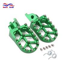 Foot Rests Footrest footpegs Pegs Pedals For KAWASAKI KLX450 KX450F KX250F KXF 250 450 2006 2017 2018 2019 2020 KLX450R 08 13