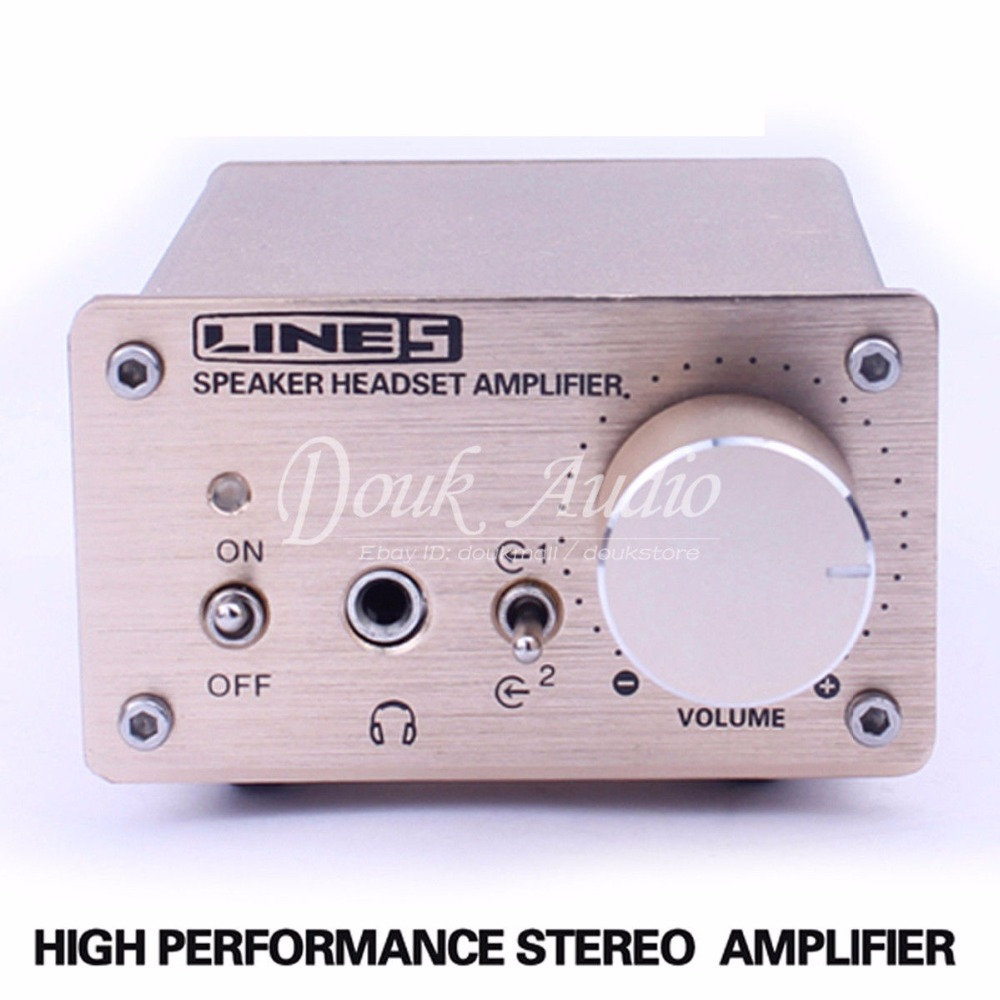 Nobsound HiFi Stereo Headphone Amp Speaker Music Power Digital Amp Audio Switcher цена