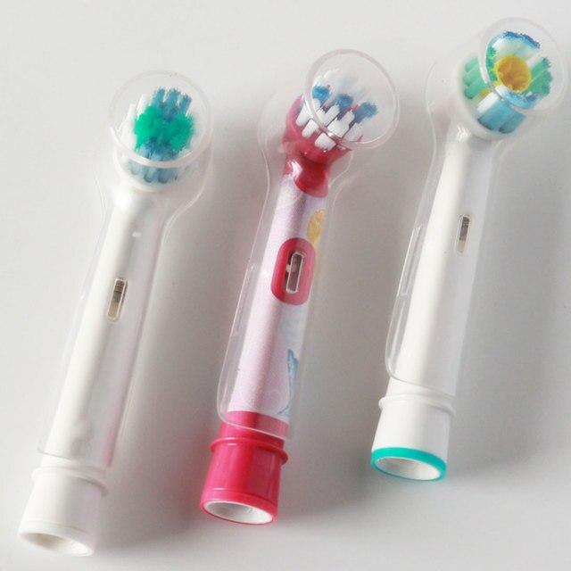 4 pz/set Igiene orale Teste Spazzolino Da Denti Elettrico Coperchio di Protezion