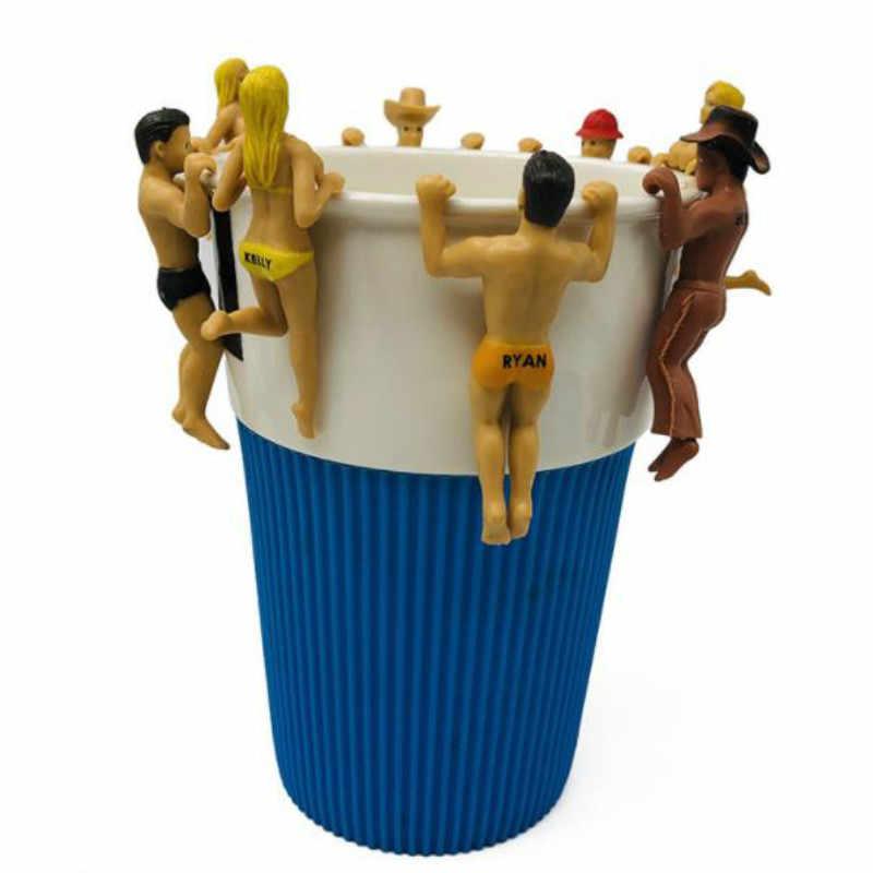 60 шт./партия творческая модель Фигурки игрушек 6 см для мужчин и женщин рядом с
