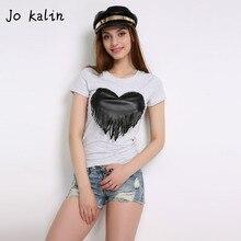 Jo Kalin 2018 Brand New Summer Womens T Shirts Short Sleeve Tops Tees Tshirt Fashion For