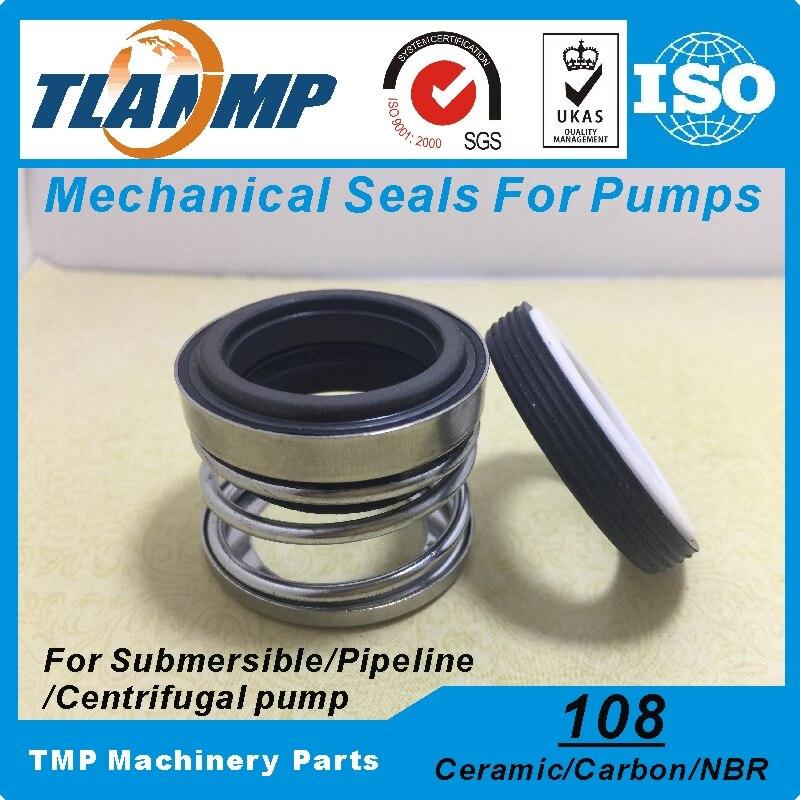 108-12-12 juntas mecánicas (Material: carbono/cerámica/NBR) tamaño del eje 12mm primavera individual sello de la bomba en limpio/residuos de agua de aceite