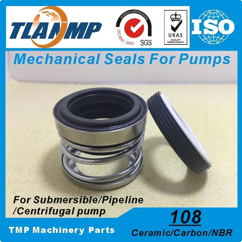108-12 mechanische Dichtungen (Material: Carbon/Keramik/NBR) welle Größe 12mm Einzigen Frühling Pumpe Dichtung Verwendet in Reinigen/Abfall Wasser, Öl