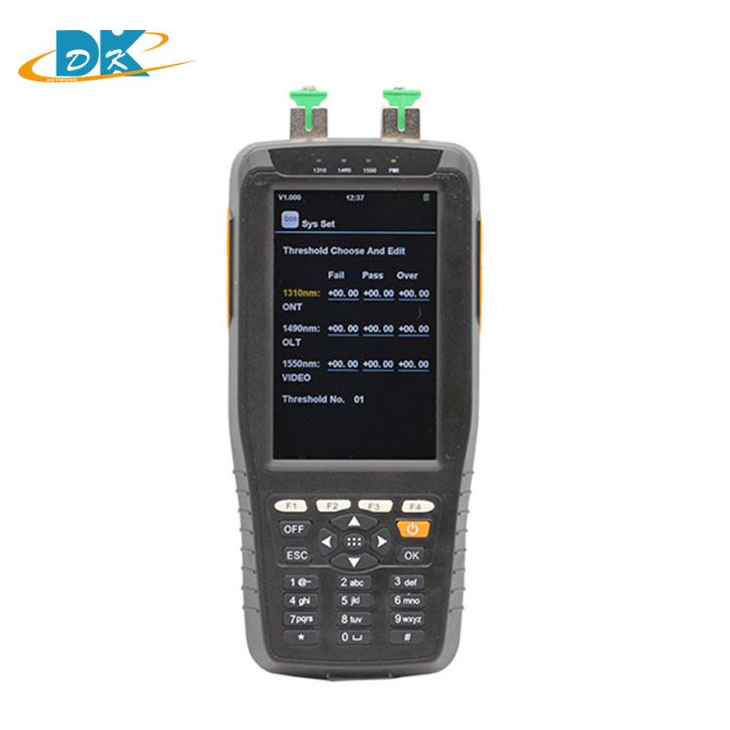 Handheld TM70B Optical Power Meter With Wavelengths 1310/1490/1550nm Pons Power Meter Optical Fiber