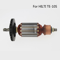 Free Shipping AC 220V 5 Teeth Drive Shaft Electric Hammer Armature Rotor For HILTI 10S High