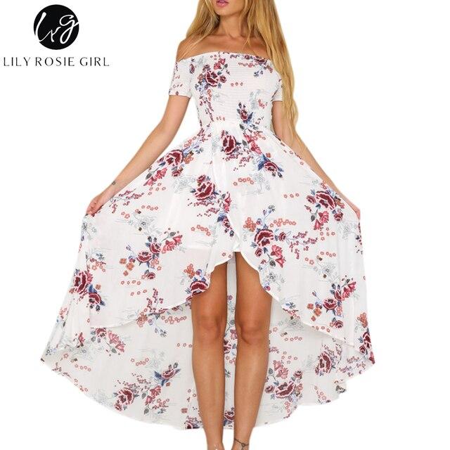 lange jurk met split meisjes