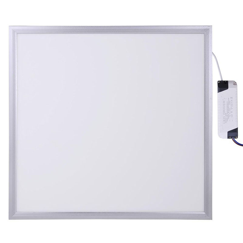 6PCS CE&RoHS LED Panel 48W 600x600 mm Indoor Office Lighting LED Ceiling Panel Light Lamp 595x595 3800lm 18w dual led ceiling lamp 140 270mm ce