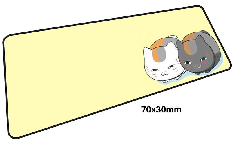 natsume yuujinchou mousepad gamer Cartoon 700x300X3MM gaming mouse pad large anime pc accessories laptop padmouse ergonomic mat