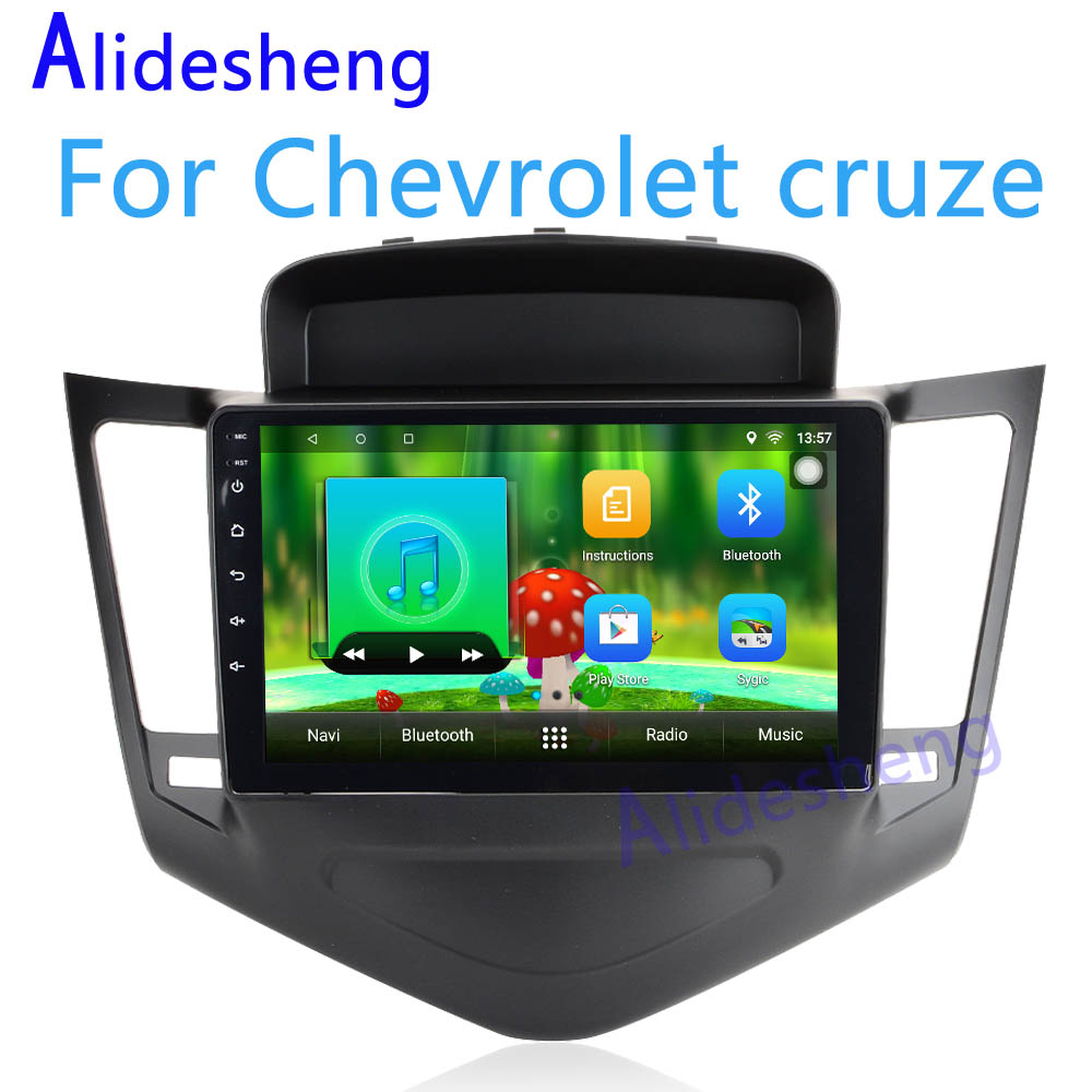 Android 7.1 Car DVD Audio and video multimedia player For Chevrolet cruze 2009 2010 2011 2012 2013 2014 GPS navigation car radio