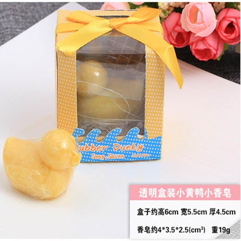 20 шт./лот мини-мыло ручной работы с ароматом для сувенир для свадебной вечеринки и детского душа подарок Свадебные сувениры Мыло для купания - Цвет: duck