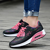 Running Shoes Women Light Weight Mesh Female Sports Shoes Jogging Outdoor Women Flat Platform Walking Trend Sneaker