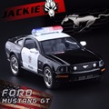 1:38 Ford 2006 Mustang GT Police CCar Alloy Diecast Model Car Vehicle Toy Collection As Gift For Boy Children Free Shipping