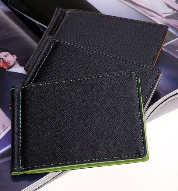 HTB1ebS1PXXXXXbvaXXXq6xXFXXXW - BLEVOLO Brand Men Wallet Short Skin Wallets Purses PU Leather Money Clips Sollid Thin Wallet For Men Purses 4 Colors