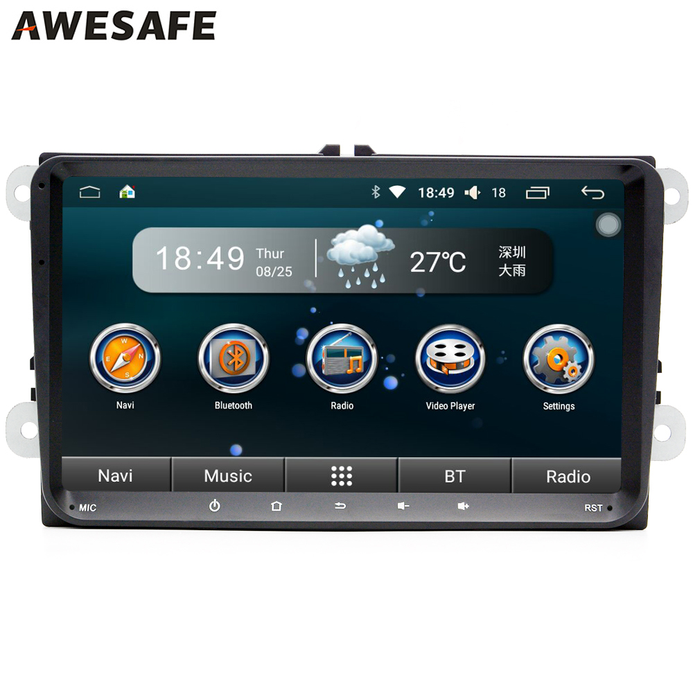 android 5 1 car dvd player gps radio audio stereo for volkswagen vw golf polo cc passat tiguan. Black Bedroom Furniture Sets. Home Design Ideas