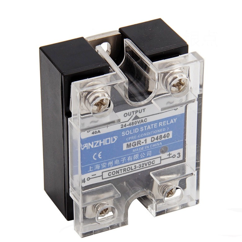 Solid State Relay Single-phase  D4880 MGR - 1  DC Control AC SSR 80DA ssr mgr 1 d4860 meike er normally open type single phase solid state relay 60a dc ac