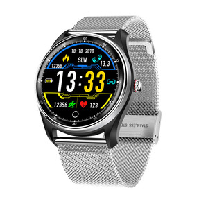 Image 5 - 2019 New hr bp monitoring fitness band PPG ECG smart watch with ecg electrocardiograph display heart rate monitor blood pressure