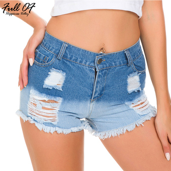 Sexy High waist shorts jeans woman befree fashion Hole beach skinny women jeans calca push up jeans Night club Party Bottom New sexy shorts jeans woman skinny hole befree women jean summer denim blue hot beach nightclub bottom calca jeans femme befree 2020