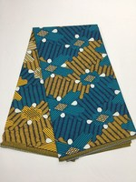 Groothandel afrikaanse real super wax prints stof Nigeria ankara java wax stof voor naaien Goede kwaliteit goedkope prijs! 16l-9-2