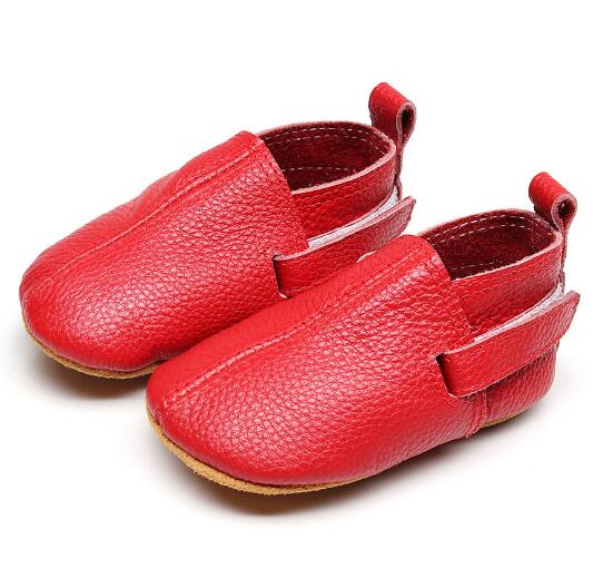 2018 hot sell handmade genuine leather baby moccasins shoes baby girls boys fashion shoes first walkers bay shoes 5 sizes