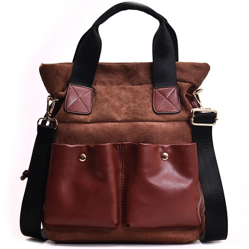 Fashion big bag female 2018 new wave Korean version of the wild single shoulder slung portable personality retro tote bag 37