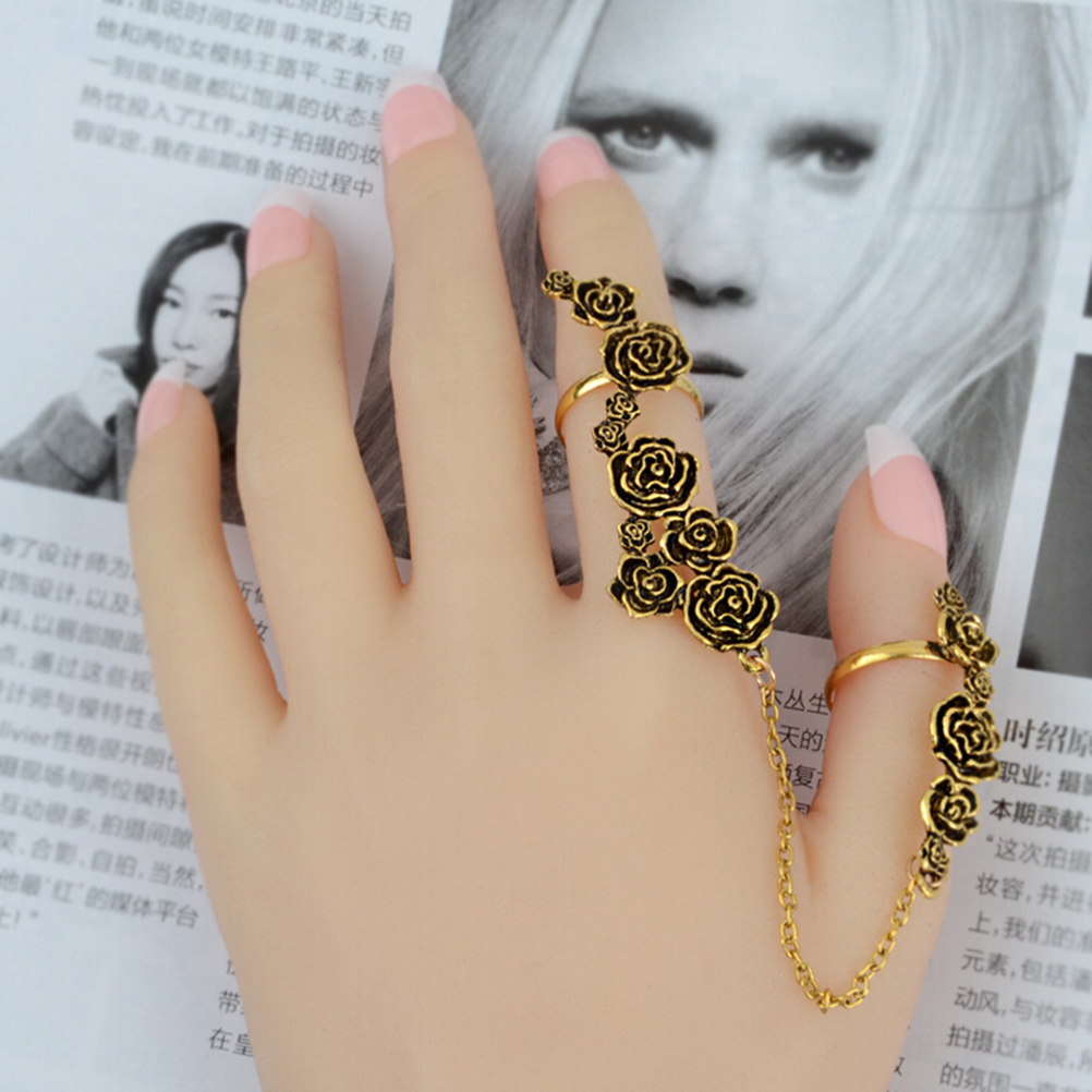 b5adcffd59566 MIDI Rings Multiple Finger Stack Knuckle Crystal Set Womens ring Jewelry