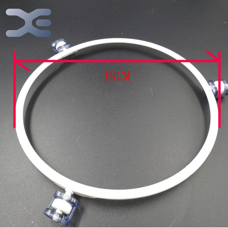 Guide Roller Microwave Oven Parts Glass Plate Support Oven Bracket Roller Plastic Ring Glass Microwave Tray Bracket