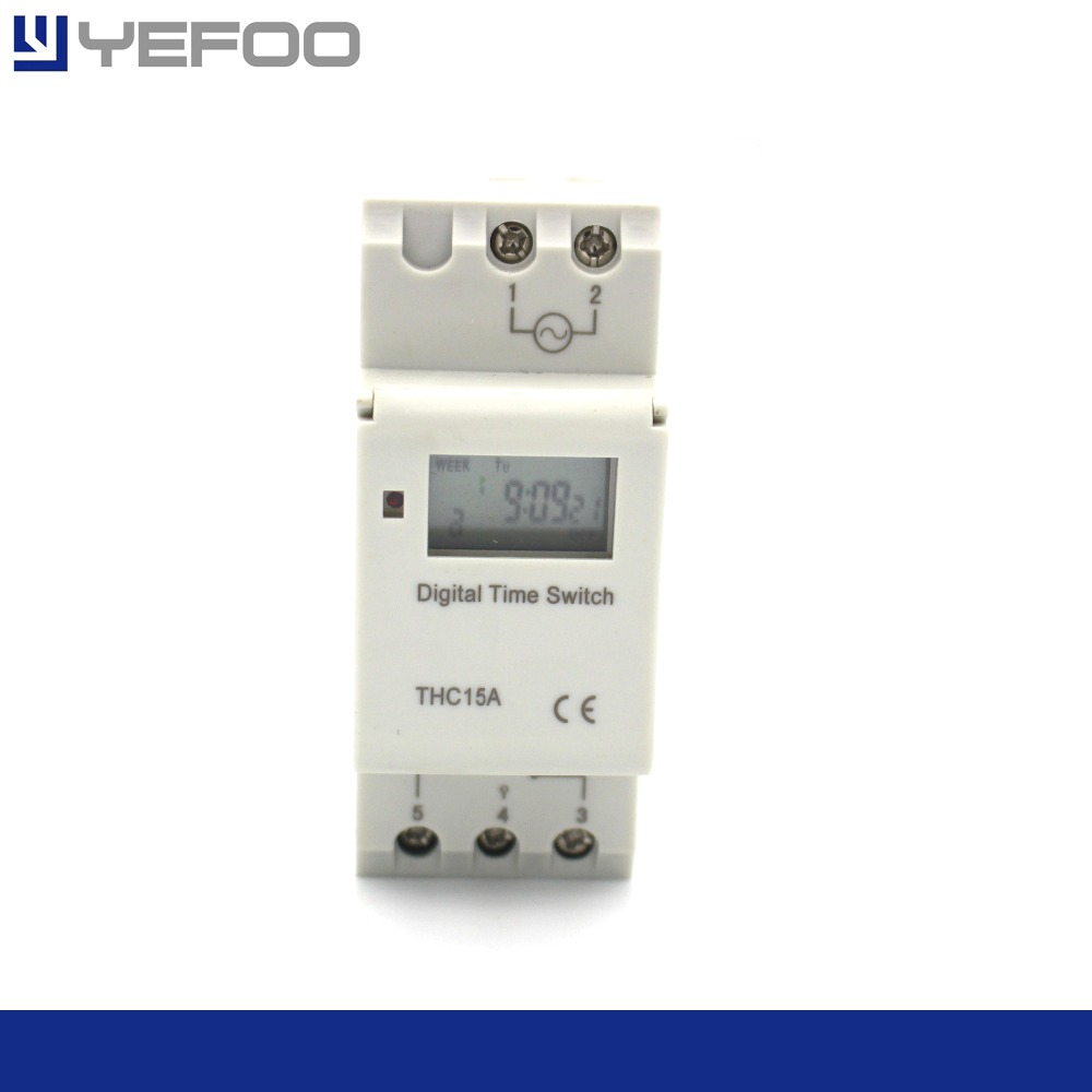Microcomputer electronic programmable digital timer switch control time relay control 110/220 v AC 16A 1PCS nice gifts high power au plug microcomputer control 3in1 programmable digital timer socket