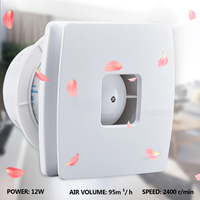 YDHC 09 4 Inch 12W Exhaust Fan kitchen Ventilator 220V Ventialtion Vent Extractor Air Blower Quiet Wall Bathroom Toilet