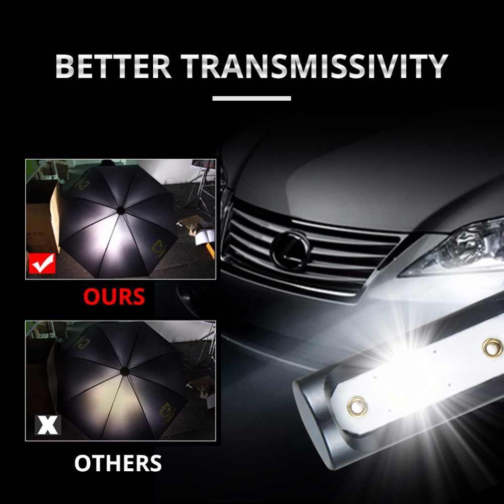 Foxcncar H7 COB Car LED Headlight Bulbs H4 Hi-Lo Beam H11 H1 H3 9005 9006  72W 10000LM 6500K Auto Headlamp Fog Light DC12v 24v
