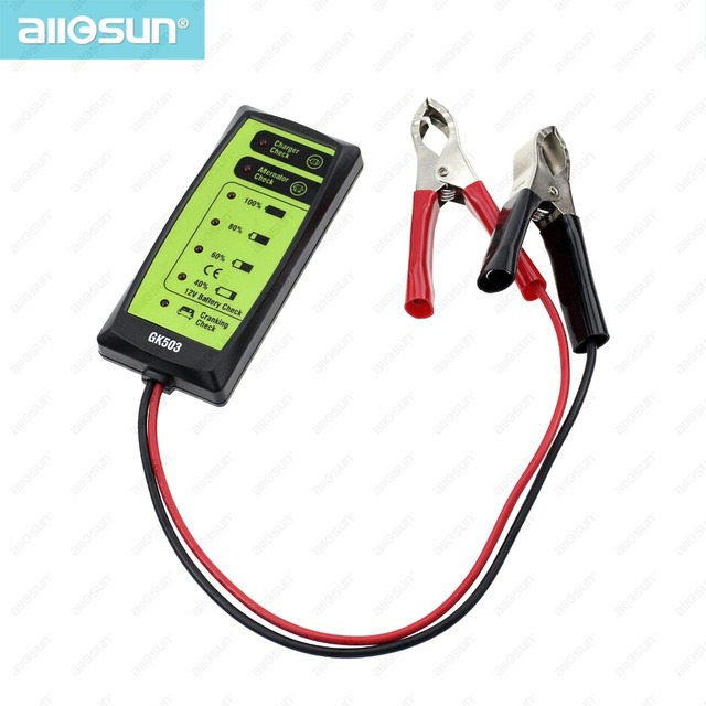 Mini 12V Automotive/ Car Battery Tester Charger