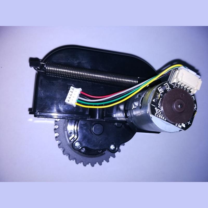 Original right wheel for chuwi ilife v5s ilife v5 pro ilife x5 V3+ V5 V3 v5pro robot Vacuum Cleaner Parts 2 pieces lot side brushes for chuwi v3 v3 v5 v5pro ilife v3 robot vacuum cleaner robotic vacuum cleaner for home