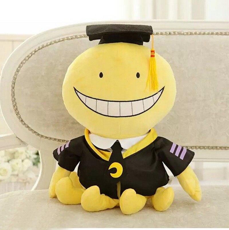1pcs 30cm Assassination Classroom Korosensei Plush Stuffed Toy for Kid