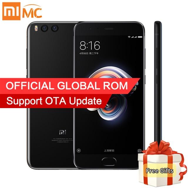 Original Xiaomi Mi Note 3 4GB RAM 64GB ROM Mobile phone Snapdragon 660 Octa Core 5.5'' 1080P 16MP Front Camera Face recognition