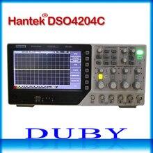Hantek DSO4204C ملتقط الذبذبات الرقمي 200 ميجا هرتز عرض النطاق الترددي 4 قنوات الكمبيوتر USB LCD المحمولة Osciloscopio المحمولة أدوات كهربائية