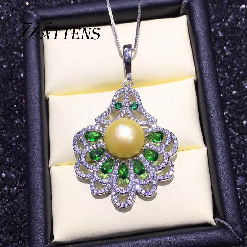 925 collier en argent sterling avec queue de paon femmes colliers de perles d'eau douce naturelles pendentifs chaîne en Zircon bijoux de bohème de mariée