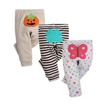 3 PCS/LOT Mode Bébé Pantalon Printemps Automne Coton Infantile Pantalon de Bande Dessinée Singe Bébé Gril Pantalon 0-24 Nouveau-Né Bébé fille garçon vêtements